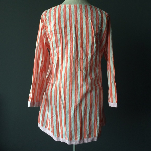 Gretchen Scott Tops - Gretchen Scott striped tunic top