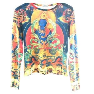 Instant Karma Tops - Vintage 90's Buddha Karma Shirt