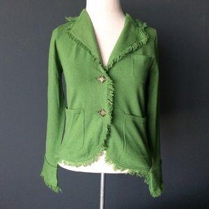 E by Eci green casual blazer