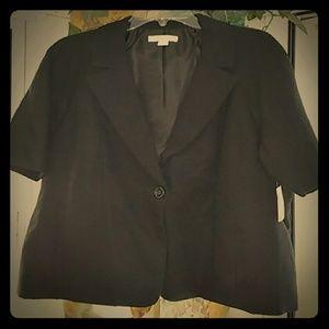 Coldwater Creek Jackets & Blazers - Classy Black Short Sleeve Blazer NWT