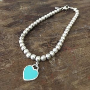 Tiffany & Co. Jewelry - Tiffany&Co. Blue Charm beaded bracelet