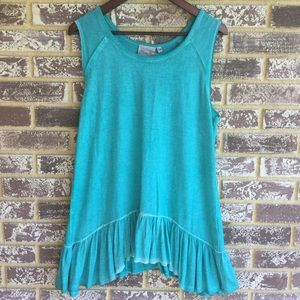 Dantelle Tops - NWT Turquoise Swing Trapeze Tank top