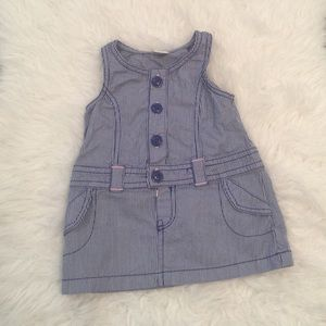 Old Navy Other - Baby girl jean dress. Jean dress. Girls blue dress