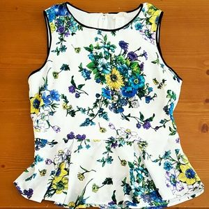 one clothing Tops - One Clothing Floral Peplum Top