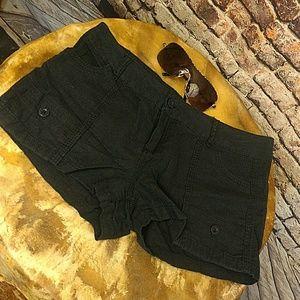 Pants - ‼️CLEARANCE‼️Linen Navy Shorts 9