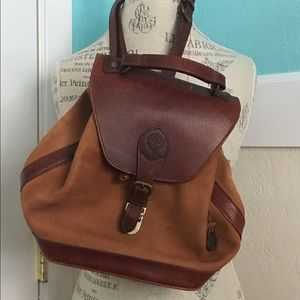 Timberland Handbags - Vintage leather backpack from Timberland