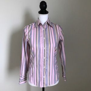 Etro Tops - Etro shirt size small striped pink IT40 women's