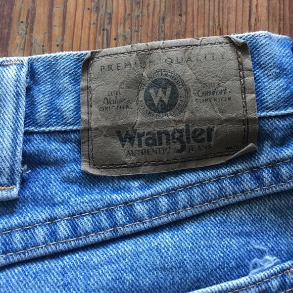 Wrangler - Wrangler Jeans size 36 waist 32 length relaxed ...