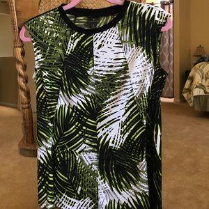 Worthington silky palm design top