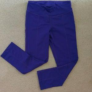 Prana Pants - Prana purple capri workout leggings