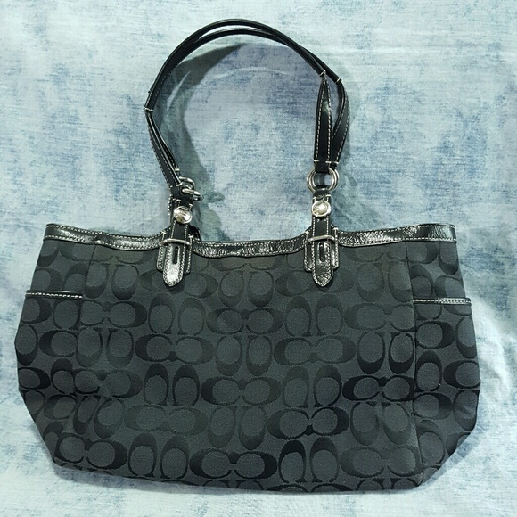 how to clean the inside of a coach purse