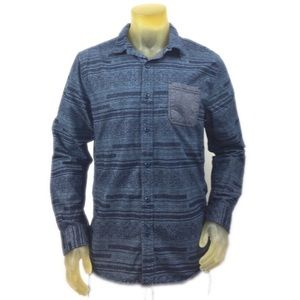 on the byas Other - On The Byas Cotton Button Down Shirt L