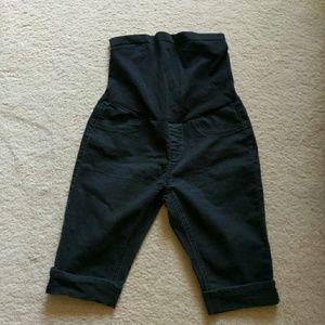 Bella  Vida Maternity Pants - Maternity full panel belly shorts