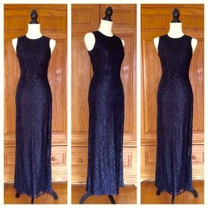 Rimini Dresses & Skirts - RIMINI lacy beaded formal prom dress -- size 4