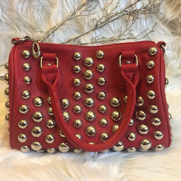 Rustic Couture's Bags - Rustic Couture's Red Pebbled Leather Bag.