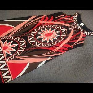 Cato Dresses & Skirts - Cato Boho Print Dress