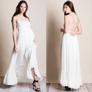 xx Backless Maxi Dress