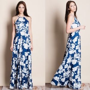 1DAYSALE Floral Print Maxi Dress