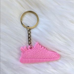 💕BACK IN STOCK💕 Pink Yeezy Shoe Keychain💕