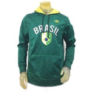 Umbro Other - Umbro Comfort Control Brazil Hooded Sweatshirt M