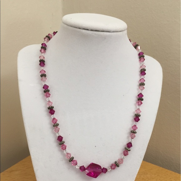 05335648353d4 Swarovski crystal bead necklace