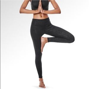 Athleta Pants - Athletes serpent tights! Like new!