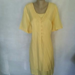 Just My Size Dresses & Skirts - Yellow Formal Dress Just My Size 24W EUC