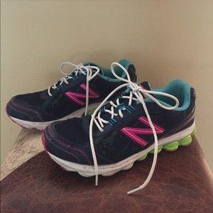 New Balance Shoes - New Balance Navy Athletic Shoes