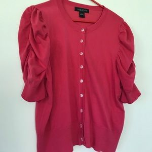 august silk Tops - August Silk Pink/Fuchsia Top