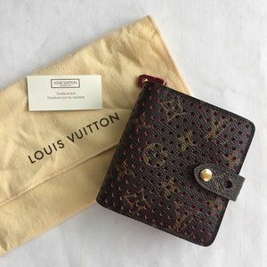 Louis Vuitton Monogram Perforated Compact Wallet