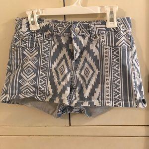 cielo jeans usa Pants - Printed short shorts