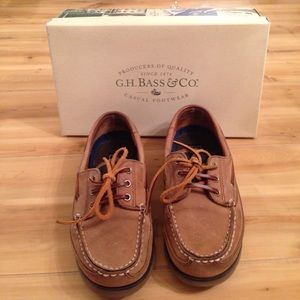 G. H. Bass & Co Other - G.H. Bass & Co. Boat Shoes / Rust Dusters