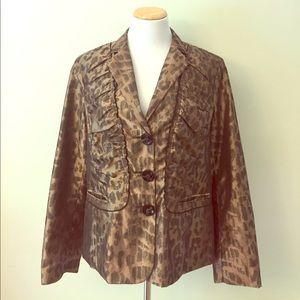 Chico's Jackets & Blazers - NEW Chico's Jacket Size 12