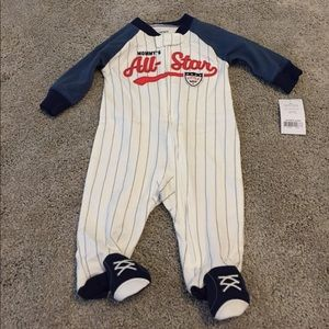 Carter's Other - NWT 3m Baseball Outfit Sleeper
