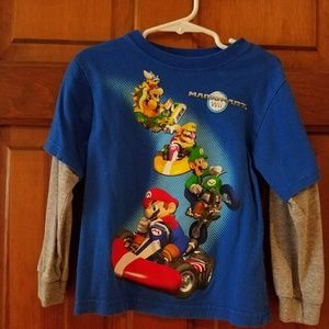 Nintendo Other - Boys size 4 Mario Kart shirt