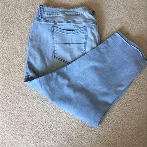 Melissa McCarthy Pants - Melissa McCarthy plus size girlfriend capris