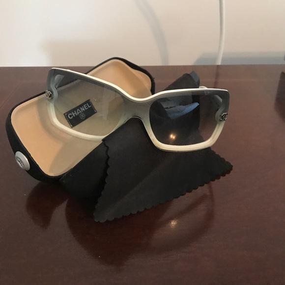 55990572c0 CHANEL Accessories - White Chanel sunglasses