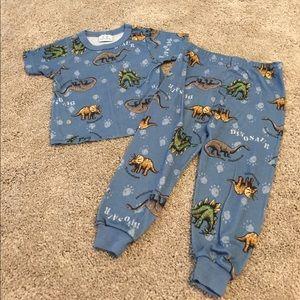 Carter's Other - Light weight blue dinosaur pajamas