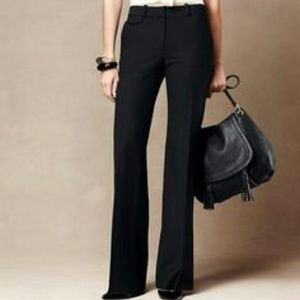 Talbots Pants - Talbots Black Heritage Bootcut Pants Size 16