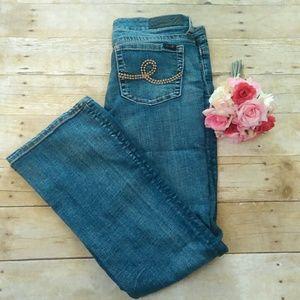 Seven7 Denim - Seven7 Boot CutJeans in Size 12
