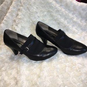 Naturalizer Shoes - Naturalizer Black Leather Heels
