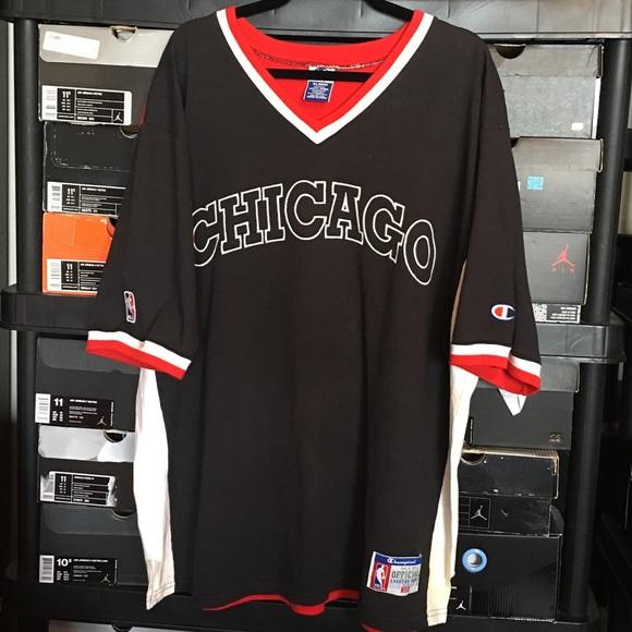 dc8512684ac7 Champion Other - Vintage Champion Chicago Bulls Shooting Shirt