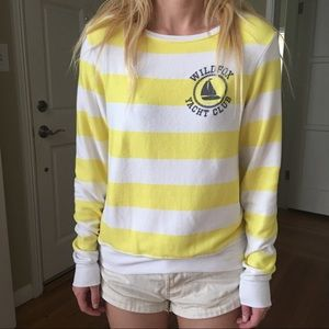 Wildfox Tops - Wildfox Yacht club beach jumper