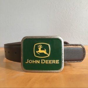 John Deere Other - Boys John Deer Leather Belt Size 20