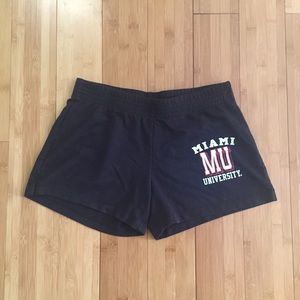 Miami Ohio University athletic shorts