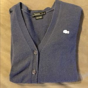 Lacoste women's sweater cardigan