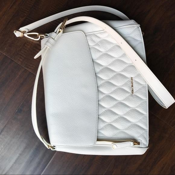 73 Off Vera Bradley Handbags Quilted Cara Convertible