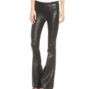 BLANK NYC faux leather flare pants