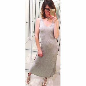 Young Fabulous & Broke Dresses & Skirts - ➡Young Fabulous & Broke Gray Midi Dress⬅