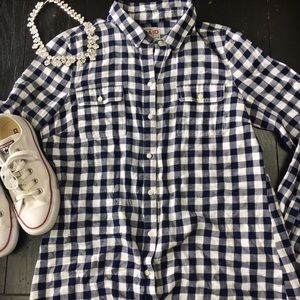 Old Navy Tops - Old Navy Flannel Plaid Shirt
